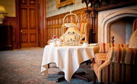Afternoon Tea in Ashford Castle