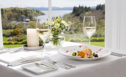 Dinner at Wilde's Restaurant (The Lodge, Ashford Castle)
